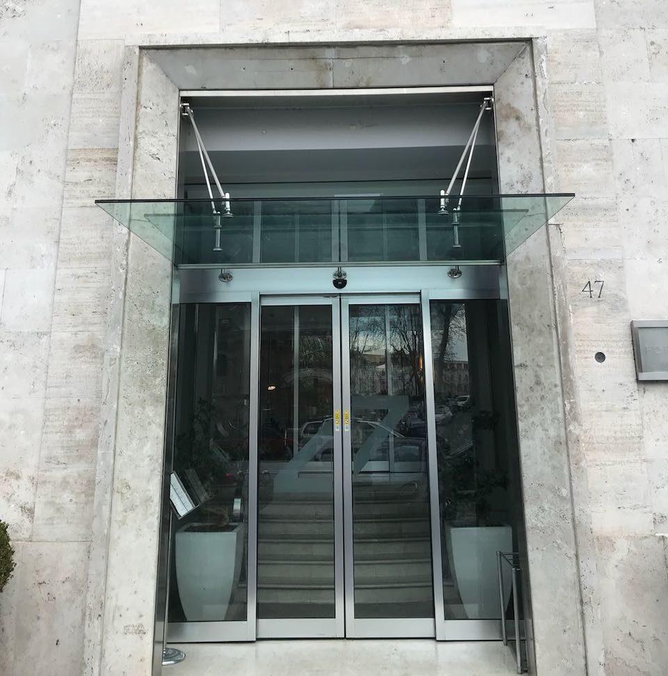 porte per esterno vetro roma